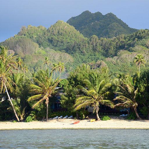Tianas Beach Villas Rarotonga